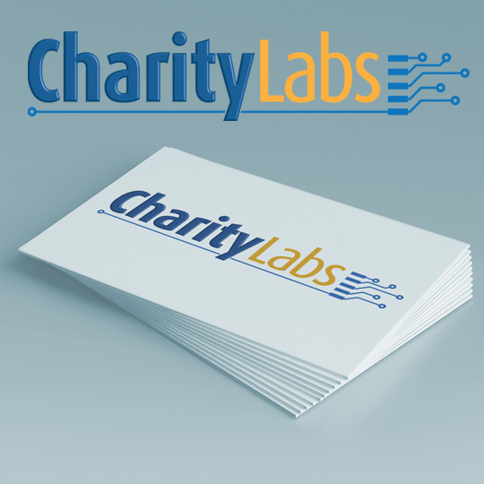 tech charity logo design